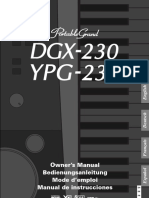 DGX 230_YPG 235 Owner's Manual