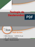 6 - Teologia de Deuteronômio