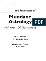 203155191 Book Mundane Astrology K N Rao