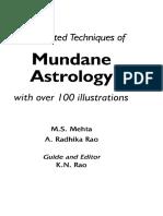 203155191 Book Mundane Astrology K N Rao