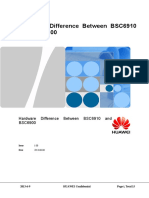 Hardware Difference Between BSC6910 and BSC6900