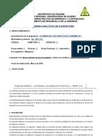 Programación Analitica de Empresa y ASP Econ