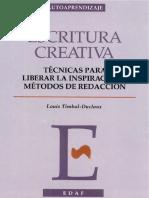 Escritura Creativa Louis Timbal Duclaux