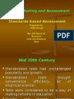 Ppt Standards-based Assessment