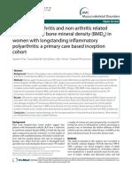 Influencia de Factores en Artritits