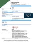 Hydrogen Gas H2 Safety Data Sheet SDS P4604