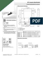 Fork Sensor Leuze