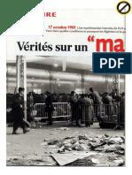 Algérie - Vérités Sur Un 'Massacre' [17!10!1961] - 2012-10-23 - Valeurs Actuelles