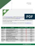 Academic Prices