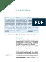 Emision Absorcion Fluorescencia ATOMICA