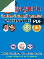 Yoga Teachers Training Prospectus