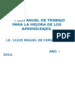 Documentos Año 2014 Plan de Mejora y Otros