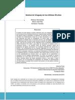 Hernández, Rey y Travieso, E. (2013) La Enseñanza Técnica en Uruguay en Los Últimos 50 Años