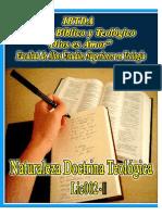 8566_LIC002-II-LA Doctrina de Las Sagradas Escrituras Teología II