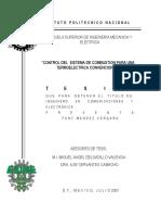 Control Del Sistema de Combustion en Termoelectrica