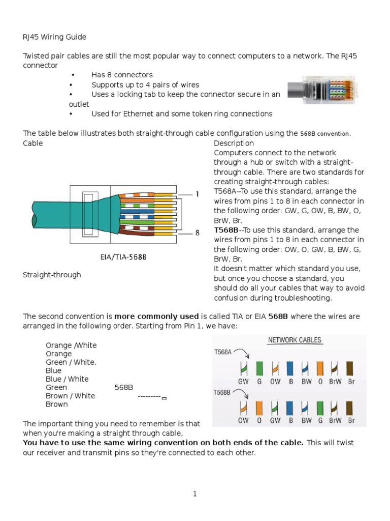 Rj45 Wiring Guide Schematic Diagrams Conventions Download U2022 Installation