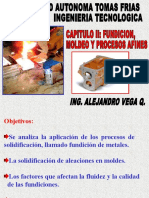 Capitulo II de Procesos Manufactura II Fundicion y Moldeo