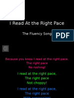 fluency song