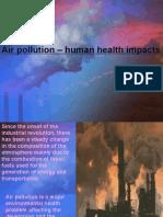 Air Pollution – Human Health Impacts - 2