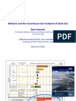 Methane and the Greenhouse Gas Footprint of Shale Gas