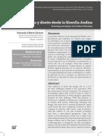 Tecnologia y Diseno Desde La Filosofia Andina