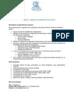 Description Poste Ingenieur de Configuration de Services_Profil2-GTEL