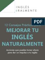 12 Consejos Prácticos Para Mejorar Tu Inglés Naturalmente