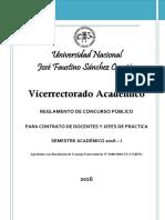Reglamento Concurso Contrato 2016