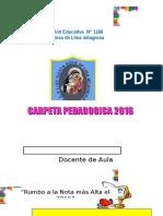 Carpeta Pedagógica 2016 Ojo