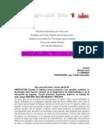 Innovación Tecnologica Maritza Rivas
