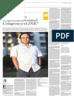 Entrevista a Martín Tanaka en El Comercio