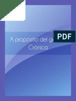 Genero Cronica