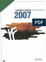 REFER - Relatório e Contas 2007