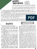 """Program Reviews"" - Late 1970s"