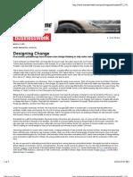 BW Designing Change