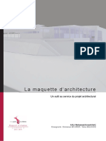 La Maquette d'Architecture