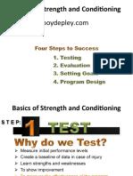 Boyd Epley Master 12 Week Plan