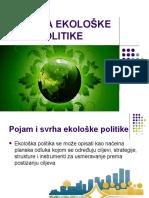 Ivana Đurić - Analiza Ekološke Politike