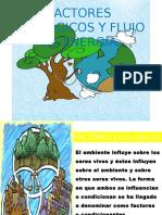 Factores Ecologicos y Flujo de Energia