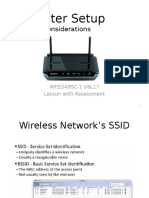 router setup considerations