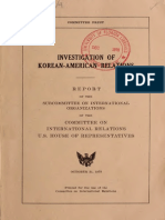Fraser Report, Congressional Investigation into Unification Church -- 1978