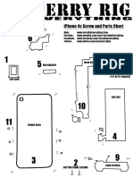 iPhone 4s Screw Chart Parts Location Sheet JerryRigEverything Low Res