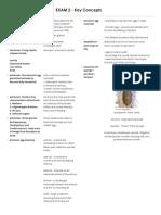 BIO 1402_Exam 2_ Key Concepts