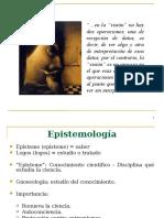 1. Ciencia y Epistemologia
