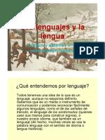 Lenguajes y Lengua