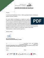 Descargo y Autorizacion 2016-1