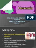 Neumonia Internado