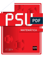 PSU Matemáticas- Sm