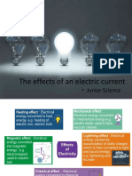 04 electric circuits - effects of an electric current 2016