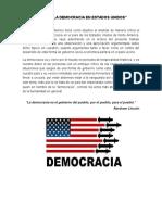 DEMOCRACIA EN ESTADOS UNIDOS